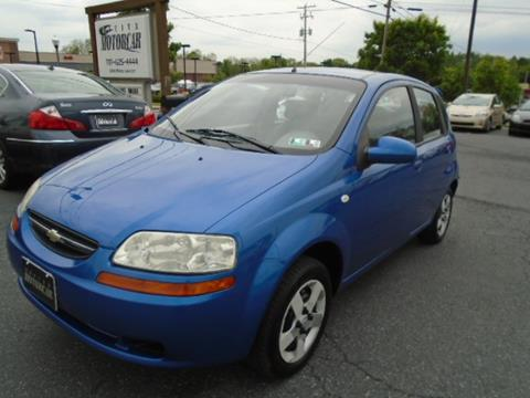 2005 Chevrolet Aveo for sale in Lititz, PA