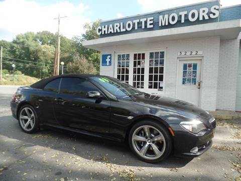 2008 BMW 6 Series for sale in Charlotte, NC