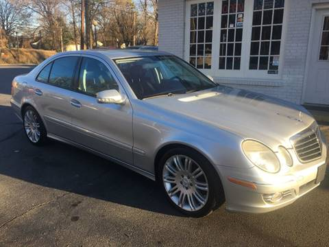 2007 mercedes benz e class for sale in north carolina for Mercedes benz for sale charlotte nc