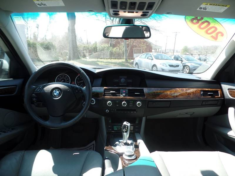 2008 BMW 5 Series 535i 4dr Sedan Luxury - Charlotte NC