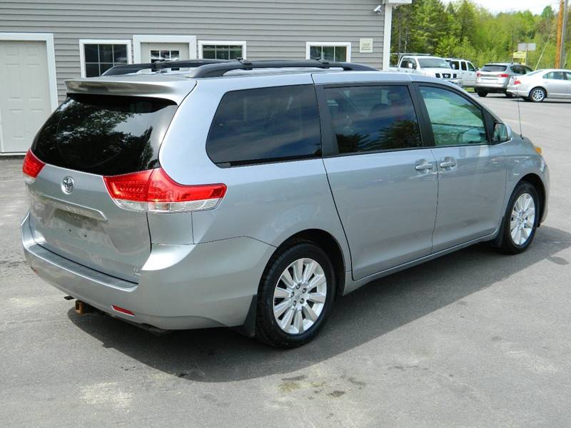 2012 Toyota Sienna for sale at Bethel Auto Sales in Bethel ME