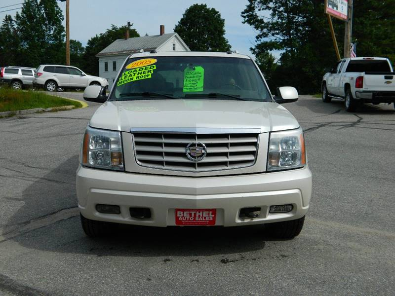2005 Cadillac Escalade ESV for sale at Bethel Auto Sales in Bethel ME