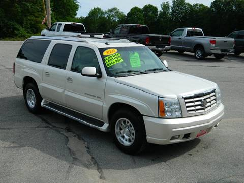 2005 Cadillac Escalade ESV for sale at Bethel Auto Sales in Bethel ME