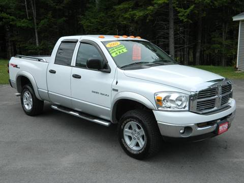 2007 Dodge Ram Pickup 1500 for sale at Bethel Auto Sales in Bethel ME