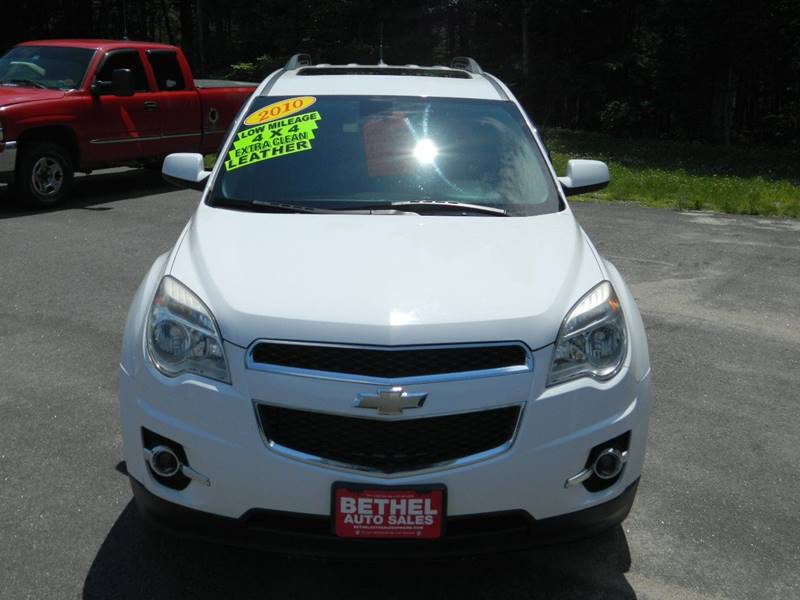 2010 Chevrolet Equinox for sale at Bethel Auto Sales in Bethel ME