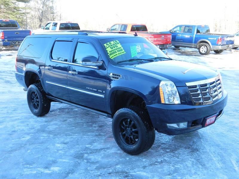 2008 Cadillac Escalade Esv In Bethel Me Bethel Auto Sales
