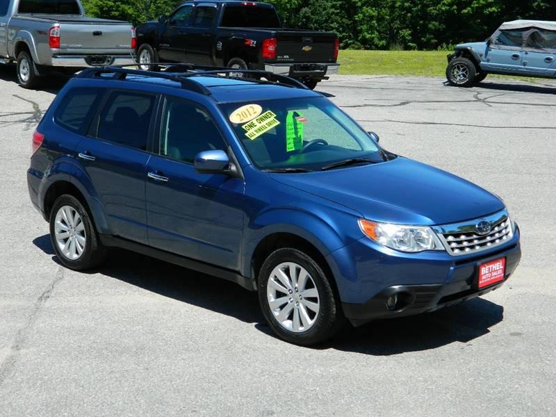 2012 Subaru Forester 25x Premium In Bethel Me Bethel Auto Sales