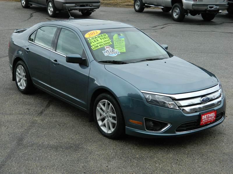 2012 Ford Fusion For Sale >> 2012 Ford Fusion In Bethel Me Bethel Auto Sales