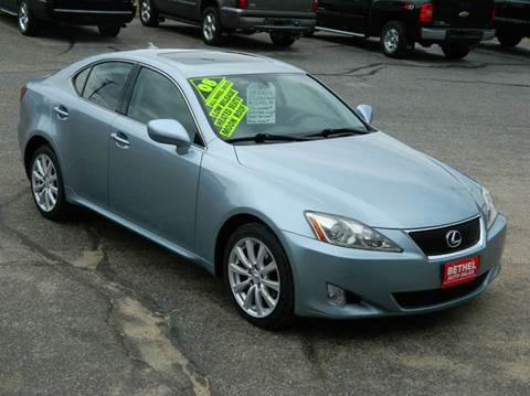 2008 Lexus IS 250 for sale at Bethel Auto Sales in Bethel ME