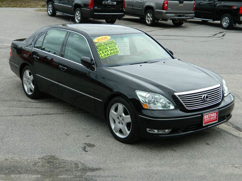 Amazing 2006 Lexus LS 430 For Sale At Bethel Auto Sales In Bethel ME