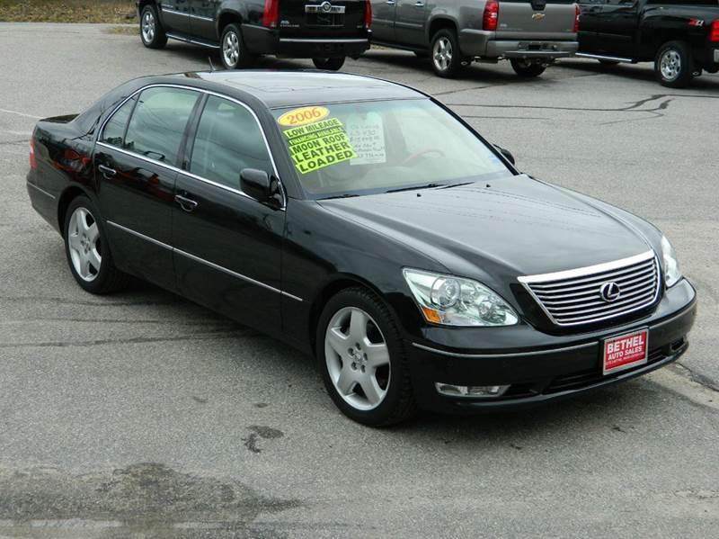 Amazing 2006 Lexus LS 430 For Sale At Bethel Auto Sales In Bethel ME