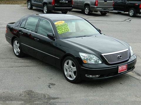 2006 Lexus LS 430 for sale at Bethel Auto Sales in Bethel ME