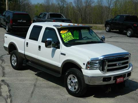 2005 Ford F-350 Super Duty for sale at Bethel Auto Sales in Bethel ME