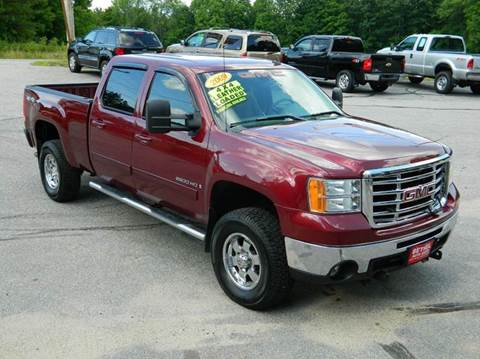 2009 GMC Sierra 2500HD for sale at Bethel Auto Sales in Bethel ME