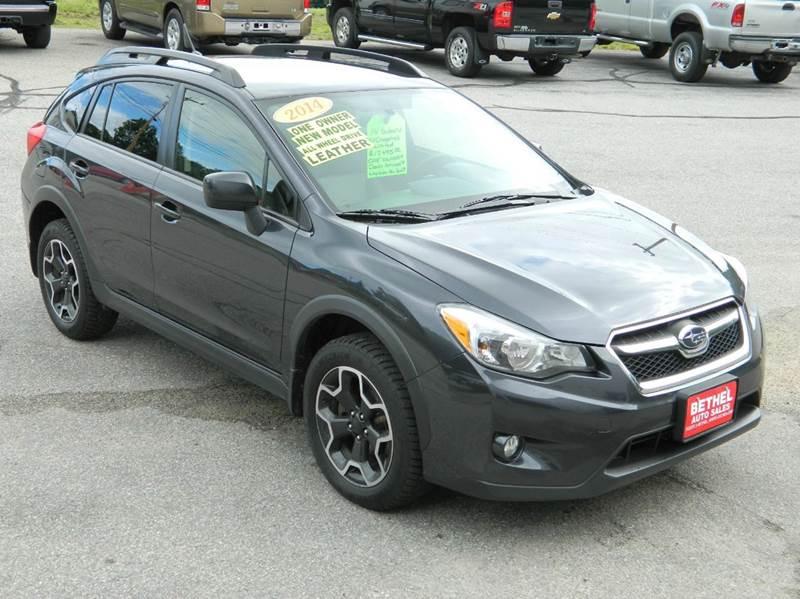 2014 Subaru XV Crosstrek for sale at Bethel Auto Sales in Bethel ME