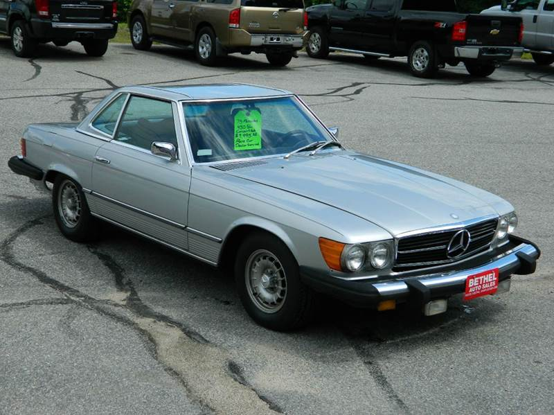 1975 Mercedes-Benz 450 SL for sale at Bethel Auto Sales in Bethel ME