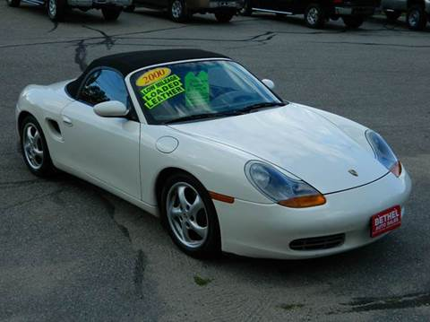 2000 Porsche Boxster for sale at Bethel Auto Sales in Bethel ME