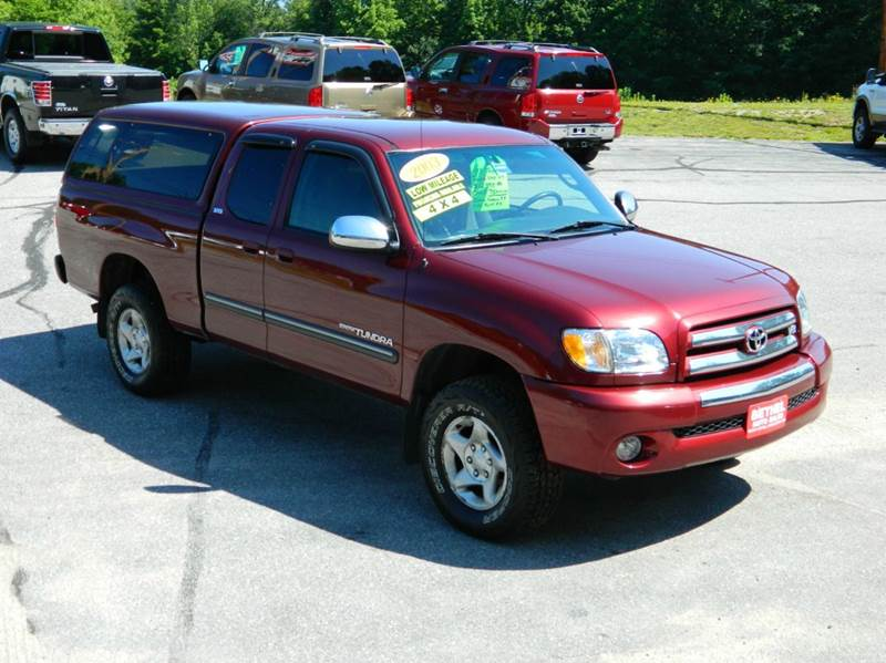 2003 Toyota Tundra for sale at Bethel Auto Sales in Bethel ME