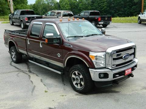2011 Ford F-350 Super Duty for sale at Bethel Auto Sales in Bethel ME