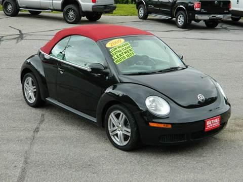 2009 Volkswagen New Beetle for sale at Bethel Auto Sales in Bethel ME
