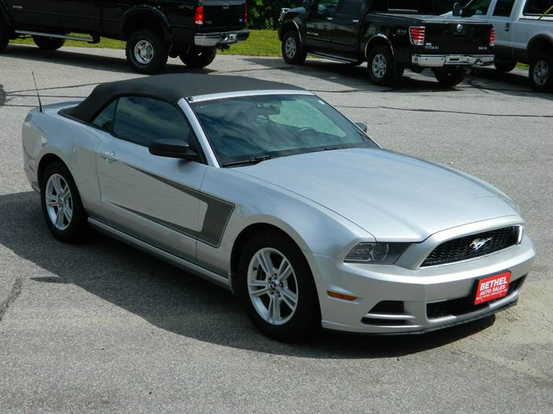 2014 Ford Mustang for sale at Bethel Auto Sales in Bethel ME