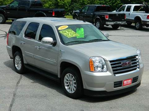 2009 GMC Yukon for sale at Bethel Auto Sales in Bethel ME