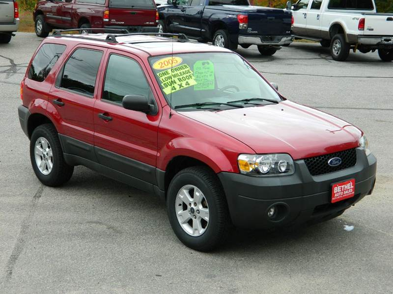 2005 Ford Escape for sale at Bethel Auto Sales in Bethel ME