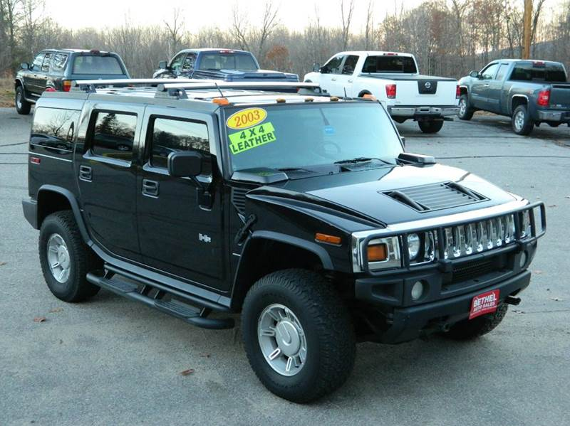 2003 hummer h2 in bethel me bethel auto sales. Black Bedroom Furniture Sets. Home Design Ideas