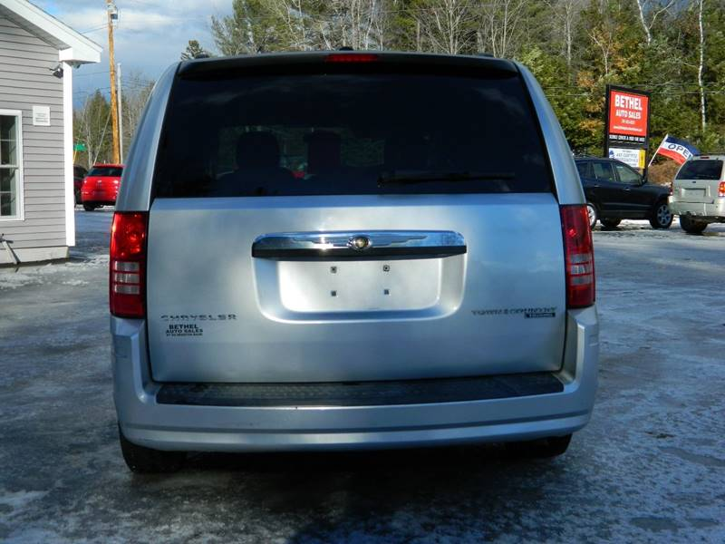 2010 Chrysler Town and Country for sale at Bethel Auto Sales in Bethel ME