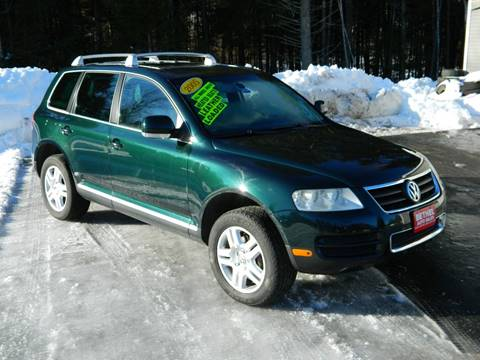 2005 Volkswagen Touareg for sale at Bethel Auto Sales in Bethel ME