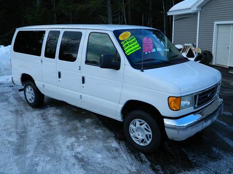 2003 Ford E-Series Wagon for sale at Bethel Auto Sales in Bethel ME