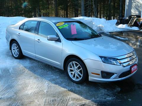2011 Ford Fusion for sale at Bethel Auto Sales in Bethel ME