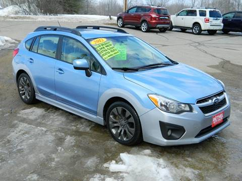 2012 Subaru Impreza for sale at Bethel Auto Sales in Bethel ME