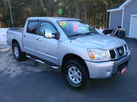 2005 Nissan Titan for sale at Bethel Auto Sales in Bethel ME