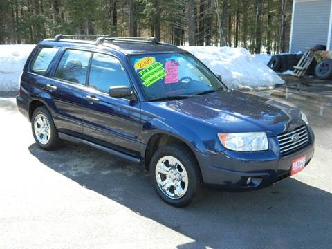 2006 Subaru Forester for sale at Bethel Auto Sales in Bethel ME