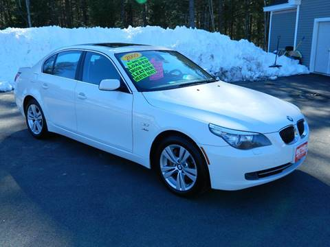 2009 BMW 5 Series for sale at Bethel Auto Sales in Bethel ME