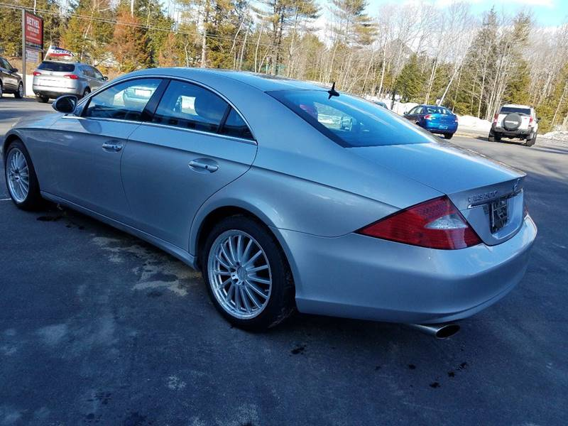 2006 Mercedes-Benz CLS for sale at Bethel Auto Sales in Bethel ME