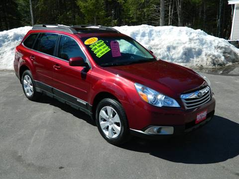 2012 Subaru Outback for sale at Bethel Auto Sales in Bethel ME
