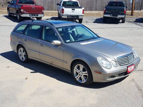 2006 Mercedes-Benz E-Class for sale at Bethel Auto Sales in Bethel ME