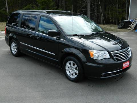 2012 Chrysler Town and Country for sale at Bethel Auto Sales in Bethel ME