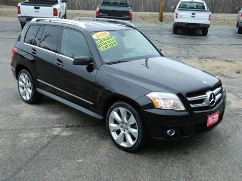 2010 Mercedes-Benz GLK for sale at Bethel Auto Sales in Bethel ME