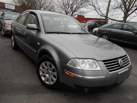 2003 Volkswagen Passat for sale at Auto King Picture Cars in Westchester County NY