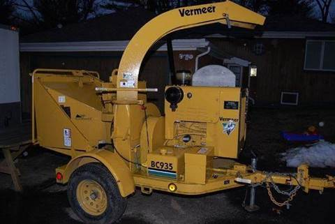 1999 VERMEER BRUSH CHIPPER for sale in Westchester County, NY