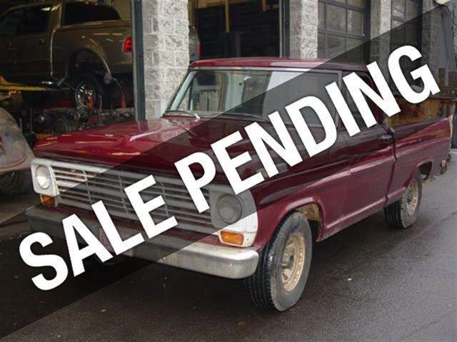1969 Ford F-150 for sale at Auto King Picture Cars in Pound Ridge NY