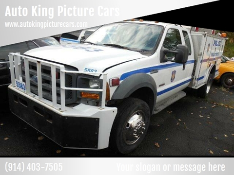 2005 Ford F-450 Super Duty for sale at Auto King Picture Cars - Rental in Westchester County NY
