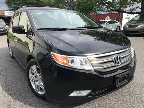 2012 Honda Odyssey for sale at Auto King Picture Cars in Westchester County NY