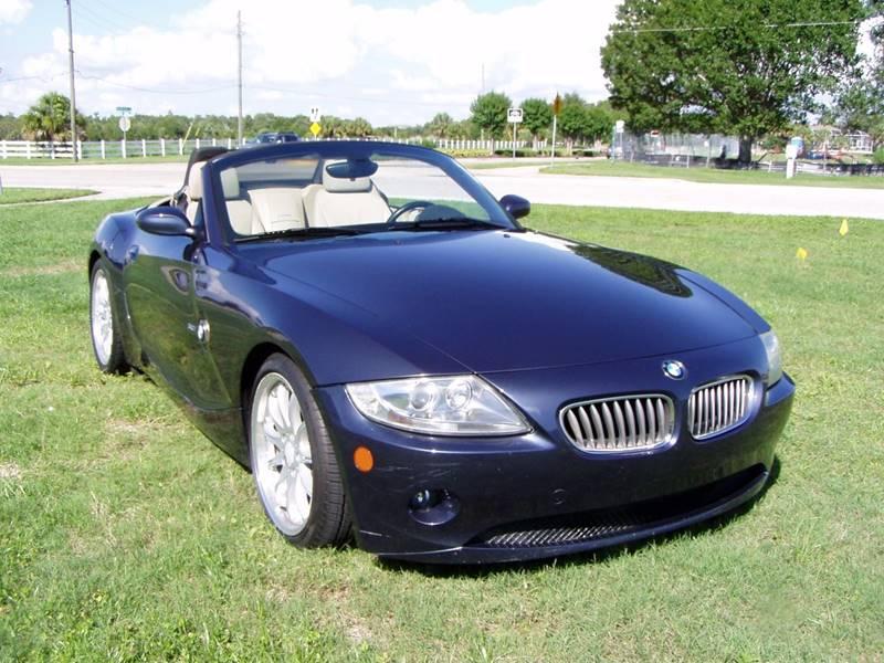 2005 BMW Z4 3.0i 2dr Roadster - Sarasota FL