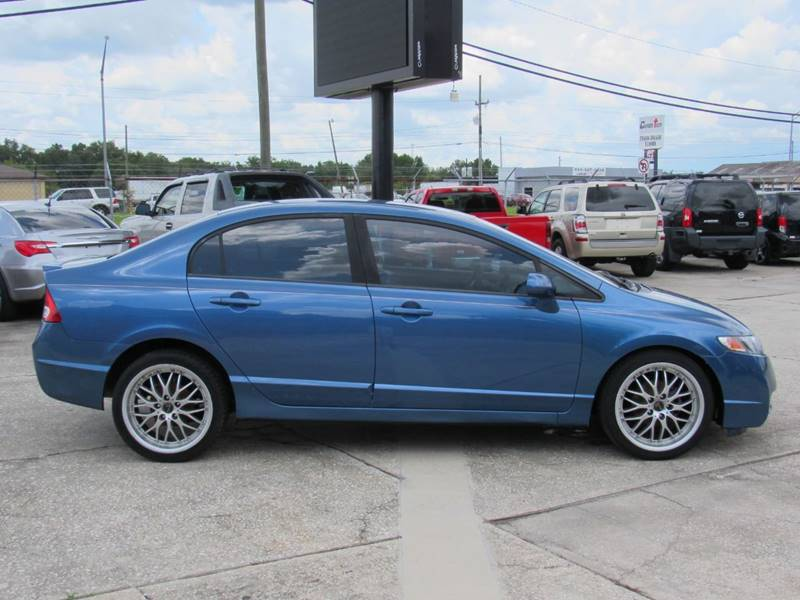 2011 Honda Civic Sedan >> 2011 Honda Civic Lx S 4dr Sedan 5a In Lakeland Fl