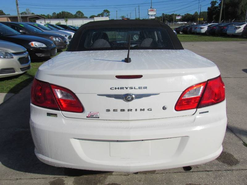 2010 chrysler sebring touring 2dr convertible in lakeland fl checkered flag auto sales north 2010 chrysler sebring touring 2dr