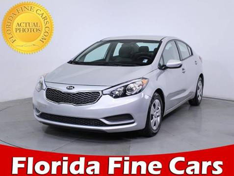 2016 Kia Forte for sale in Hollywood, FL